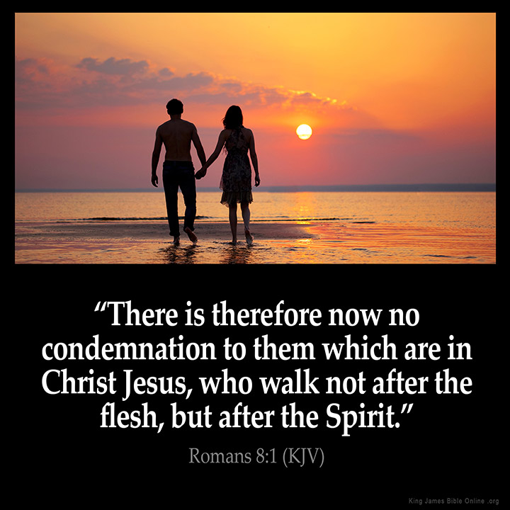 Image result for there is no condemnation in christ jesus