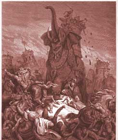 [Image: 1-Maccabees-Chapter-6-The-Death-of-Eleazar.jpg]