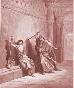 1 Samuel Chapter 18: Saul Attempts to Kill David