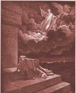 2 Kings Chapter 2: Elijah Ascends to Heaven in a Chariot of Fire by Gustave Dor�