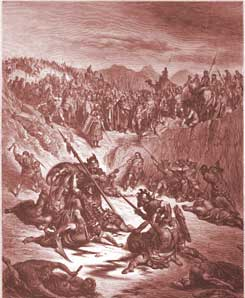 2 Samuel Chapter 2: Combat between Soldiers of Ish-bosheth and David
