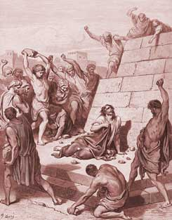 Acts Chapter 7: Martyrdom of Stephen