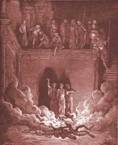 Daniel Chapter 3: Shadrach, Meshach and Abednego in the Furnace
