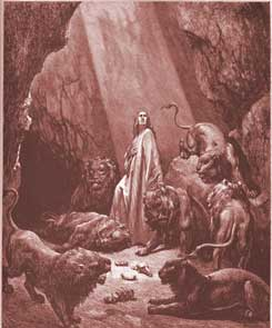 Daniel Chapter 6: Daniel in the Lions' Den