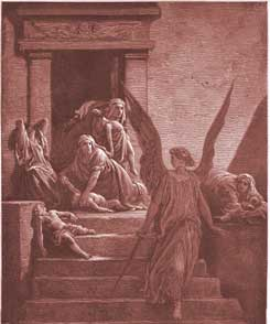Exodus Chapter 12: The Firstborn of the Egyptians Are Slain