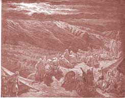 Exodus Chapter 19: The Giving of the Law on Mount Sinai