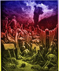 Ezekiel Chapter 37: Ezekiel�s Vision of the Valley of Dry Bones