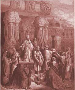 Ezra Chapter 1: Cyrus Restores the Vessels of the Temple