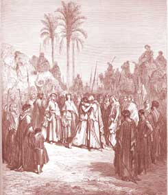 Genesis Chapter 33: Jacob and Esau Meet