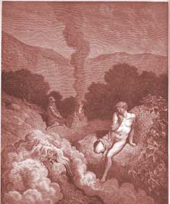 Genesis Chapter 4: Cain and Abel Offer Their Sacrifices by Gustave Dor�