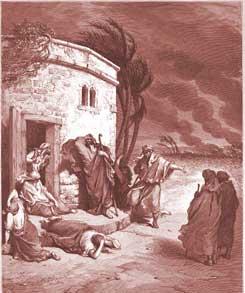 Job Chapter 1: Job Hears of His Misfortunes