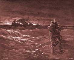 John Chapter 6: Jesus Walks on the Water