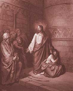 John Chapter 8: Jesus and the Woman Taken in Adultery