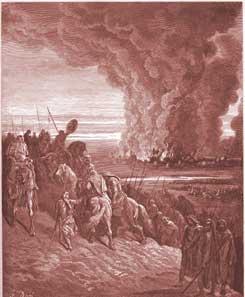 Joshua Chapter 8: Joshua Burns the Town of Ai