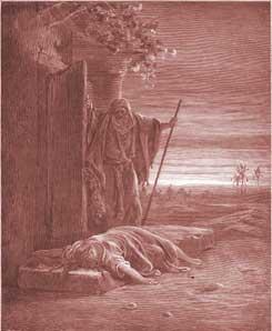 Judges Chapter 19: A Levite Finds a Woman's Corpse