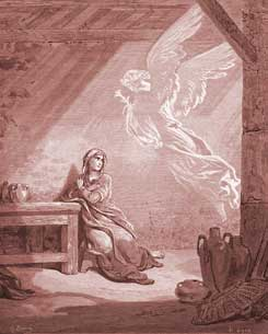 Luke Chapter 1: The Annunciation to Mary