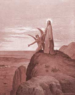 Luke Chapter 4: The Temptation of Jesus