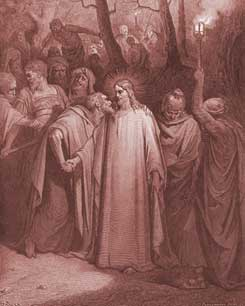 Mark Chapter 14: The Kiss of Judas