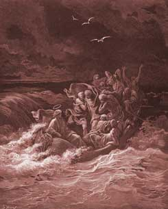 Mark Chapter 4: Jesus Calms the Storm at Sea