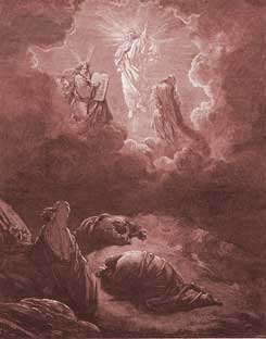 Mark Chapter 9: The Transfiguration of Jesus