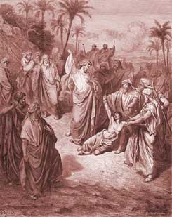 Matthew Chapter 17: Jesus Heals an Epileptic