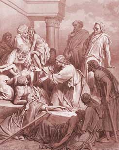 Matthew Chapter 19: Jesus Heals the Sick