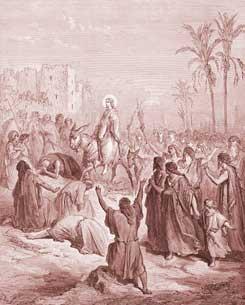 Matthew Chapter 21: Jesus Enters into Jerusalem
