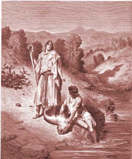 Hnub Txais Tshauv thiab Caij 40 - Page 3 Tobit-Chapter-6-Tobias-and-the-Angel