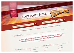 KING JAMES BIBLE NEWS