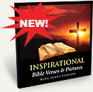 Inspirational Bible Verses & Pictures Book and Ebook